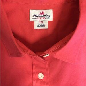J Crew Haberdashery Tall Button Up Shirt